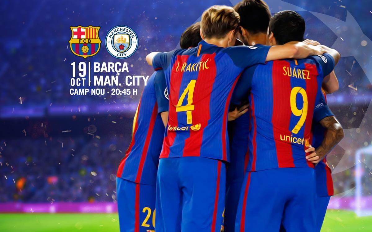 Venta de entradas para el partido contra el Manchester City en el Camp Nou
