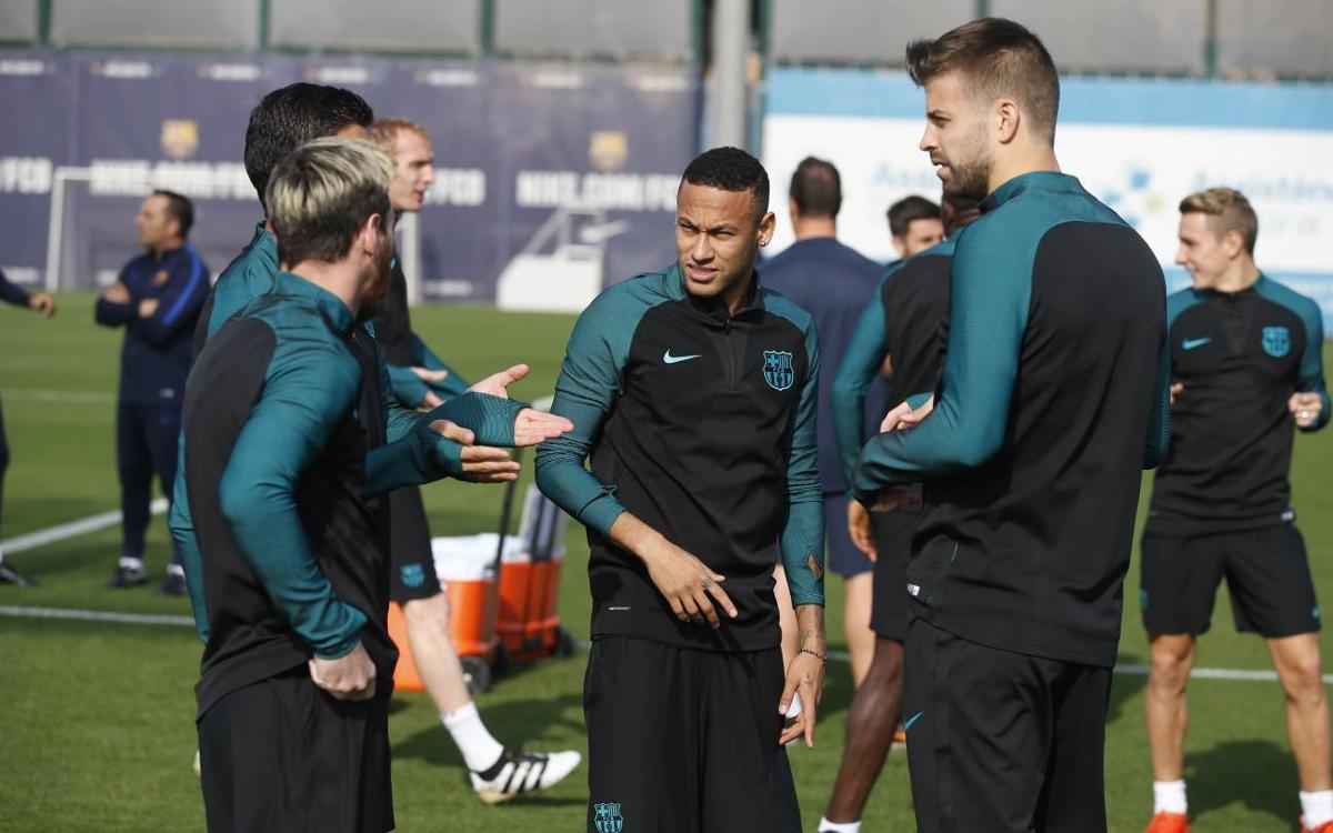 Le Barça est prêt pour le choc contre City