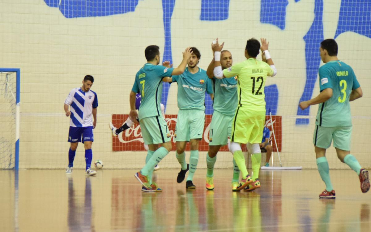 Jumilla 3-11 FC Barcelona Lassa: Huge win in Murcia