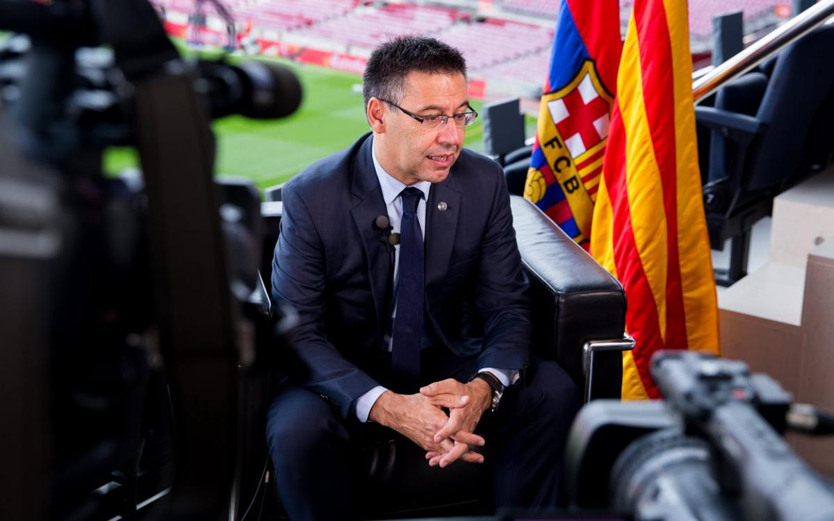Bartomeu describes FC Barcelona's global outlook to Harvard students