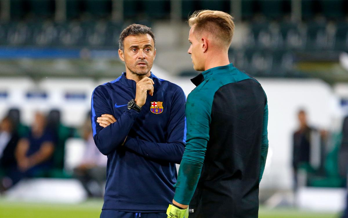 Luis Enrique: Gladbach are fearsome at home