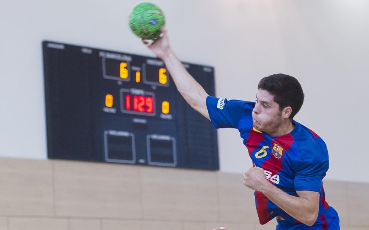 BM Nava – FC Barcelona Lassa B: La següent ronda de la Copa espera (30-32)
