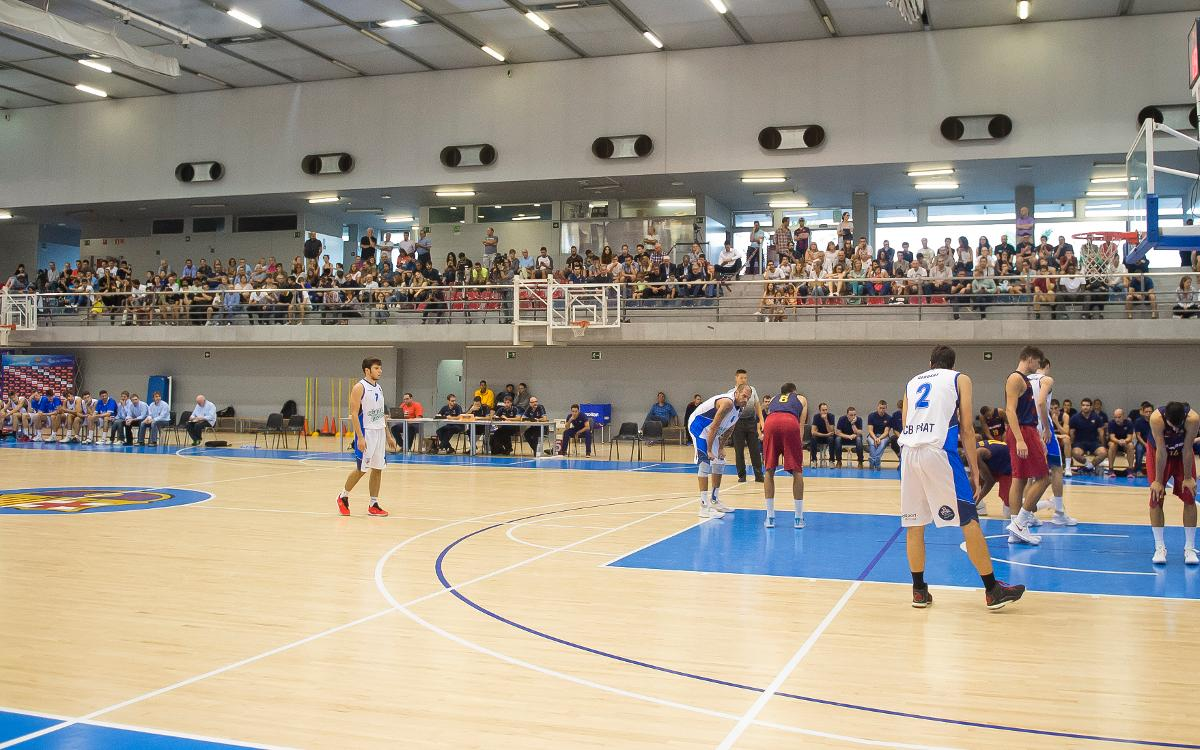Victoria de todos los equipos del baloncesto formativo