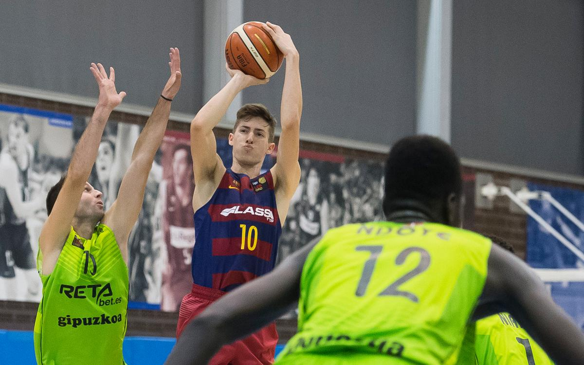 Melilla Baloncesto – FC Barcelona Lassa B: Triomf de mèrit a Melilla (64-80)