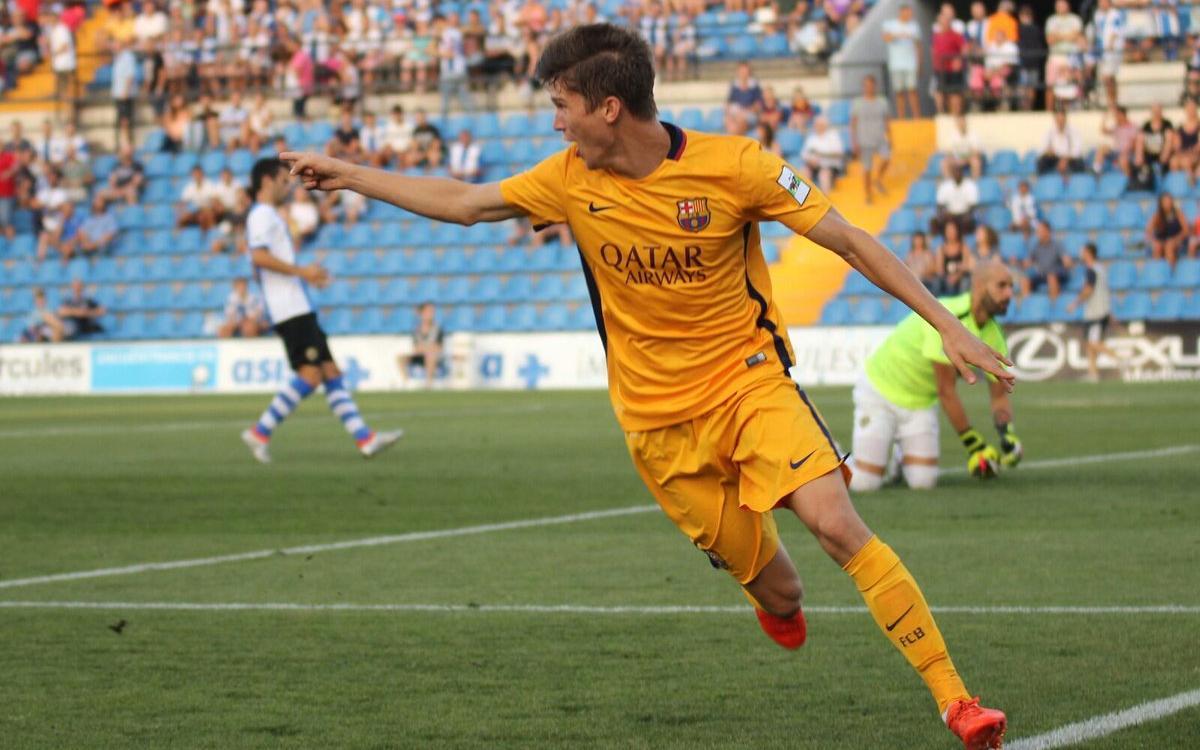 El gol más rápido del Barça B