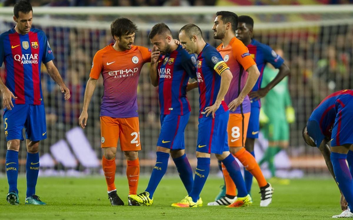 Confirmadas las lesiones de Gerard Piqué y Jordi Alba