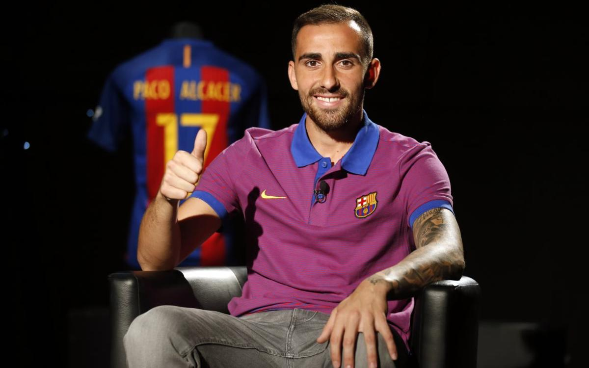 Paco Alcácer describes life with Messi, Neymar Jr and Luis Suárez