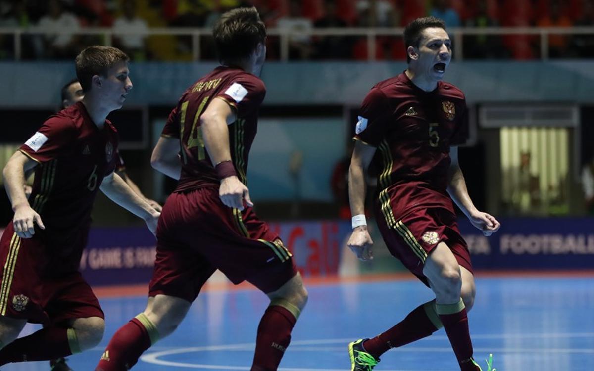Rómulo Alves será el único azulgrana en las semifinales del Mundial