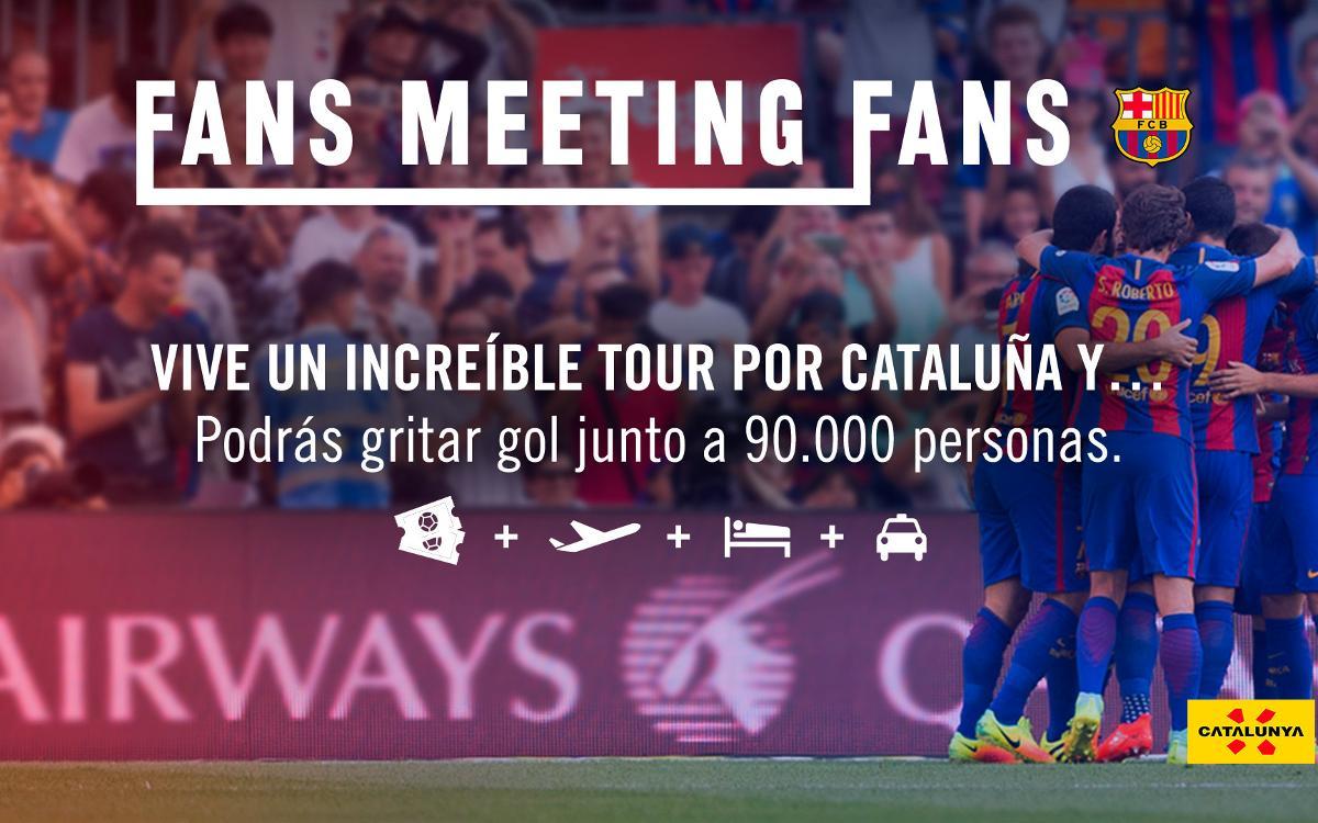 Fans Meeting Fans, un tour por Catalunya para los amantes del FC Barcelona