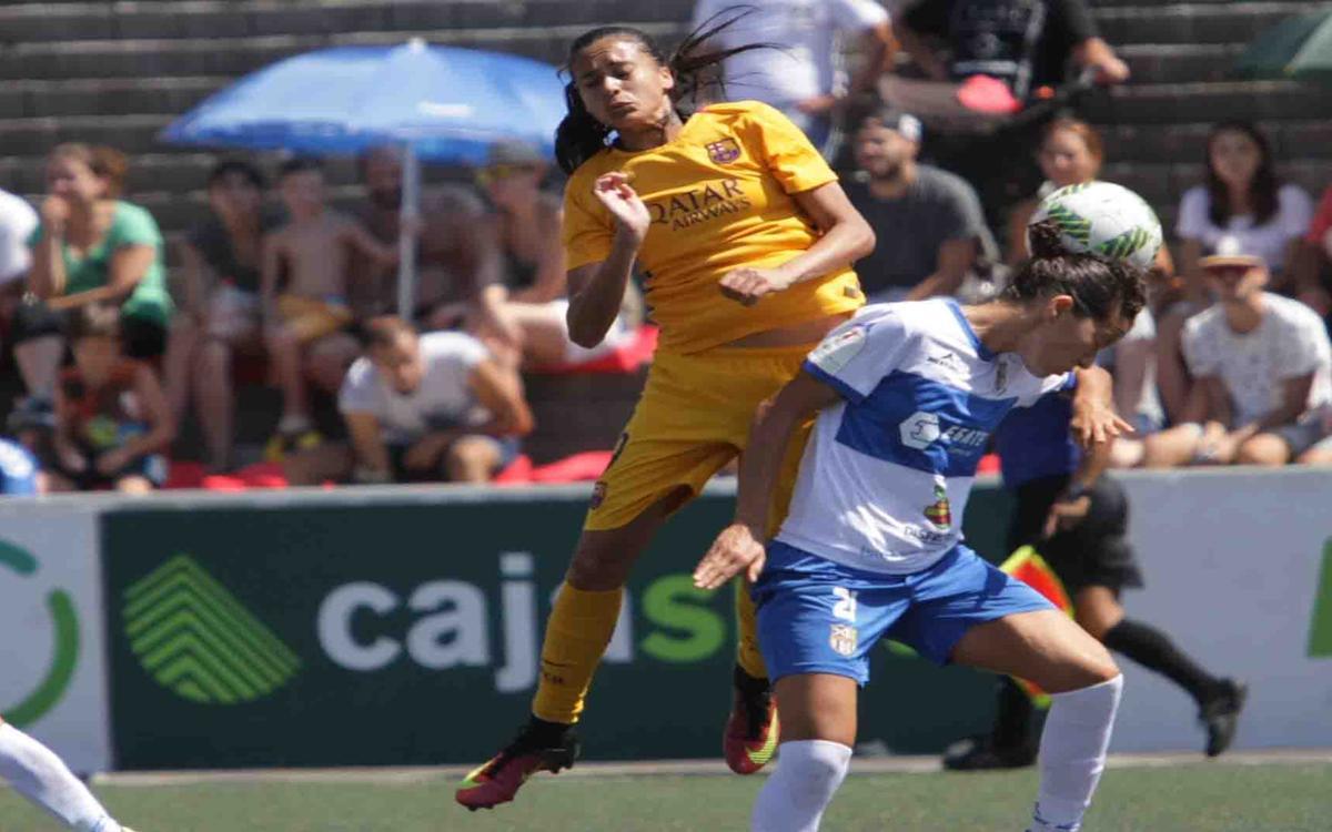 Granadilla Egatesa de Tenerife - FC Barcelona Femení: Debut imponent (0-4)