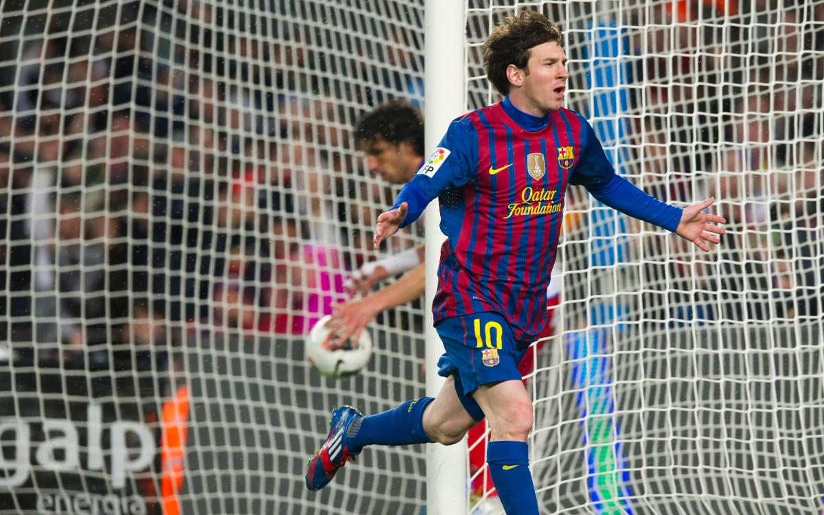 The day Messi surpassed César