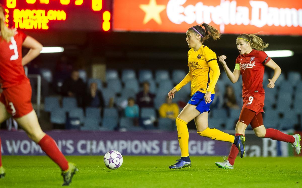 FC Barcelona women to meet FC Twente again in Champions League last sixteen