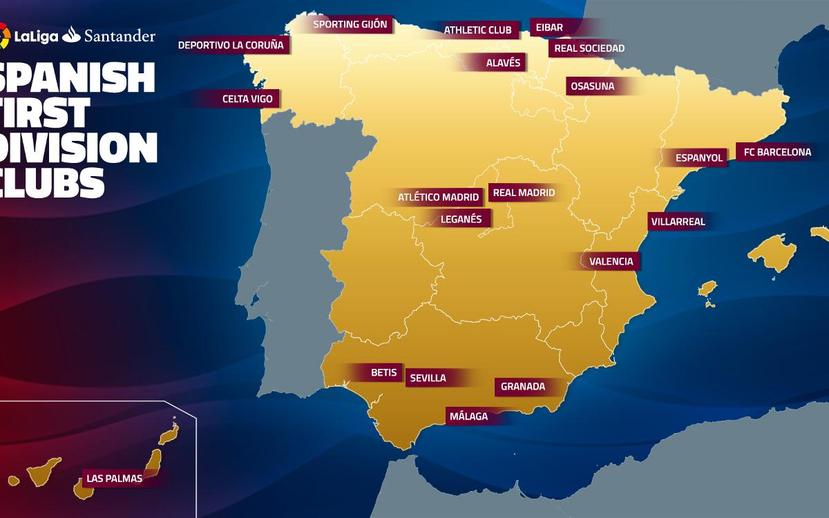 Destination La Liga: FC Barcelona's road trips in the 2016/17 season