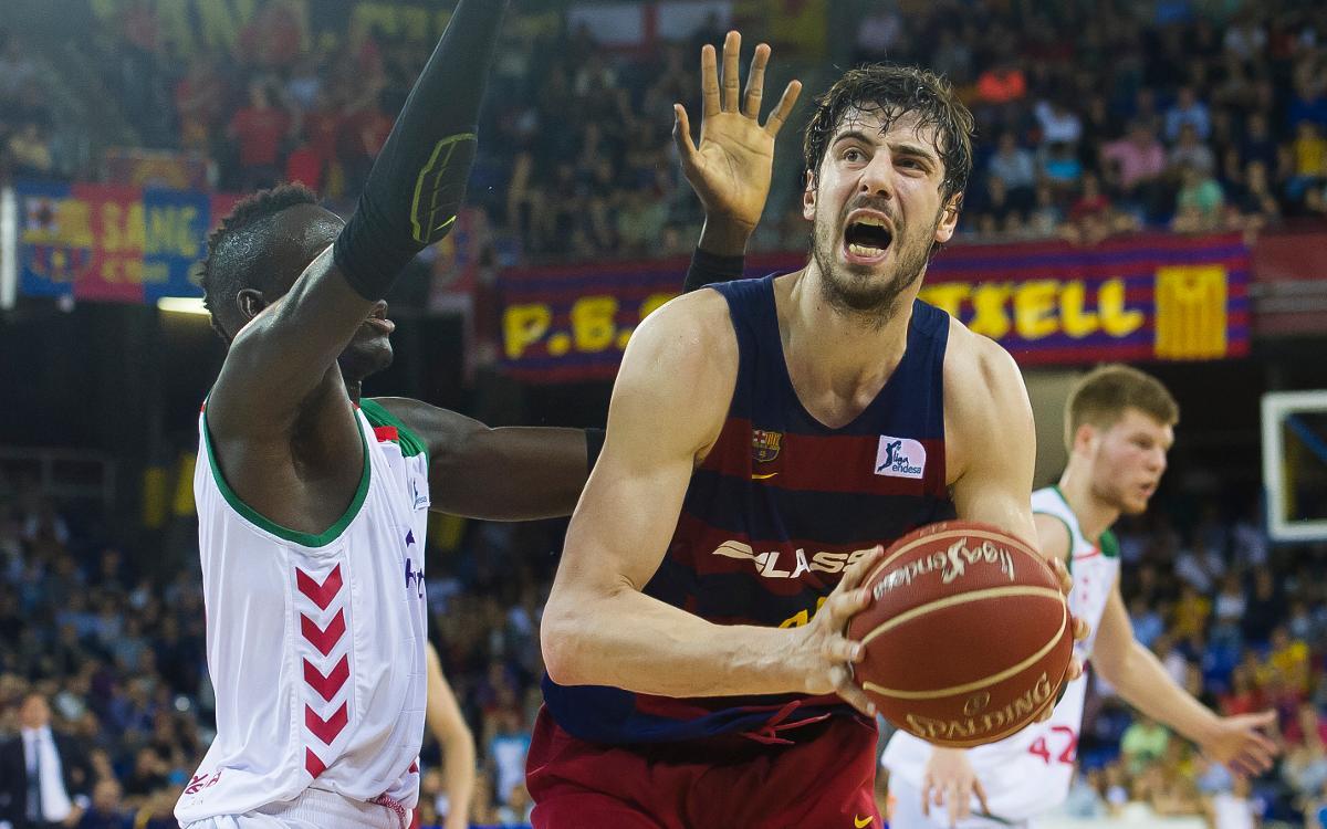 FC Barcelona Lassa - Baskonia: S'estrena la Lliga al Palau amb un plat fort