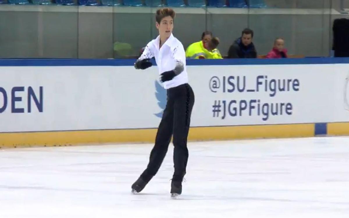 Tòn Cónsul i Aleix Gabara participen en els primers ISU Grand Prix Junior