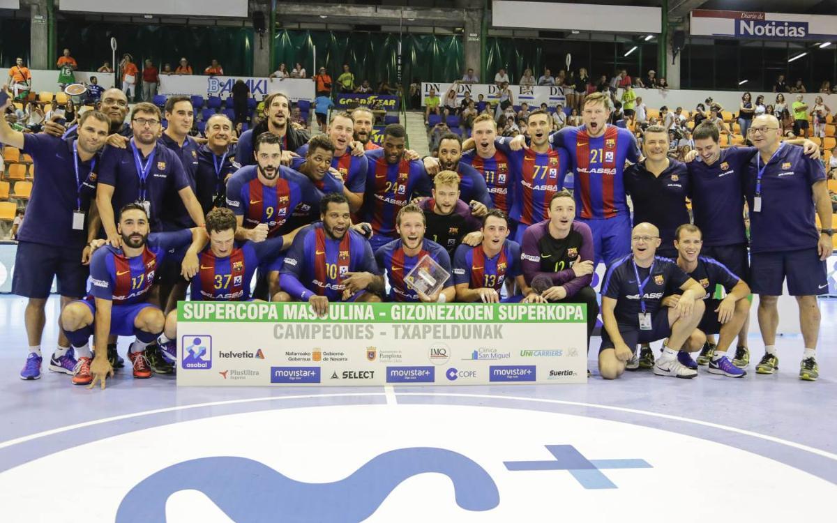 125 triunfos consecutivos del Barça de balonmano