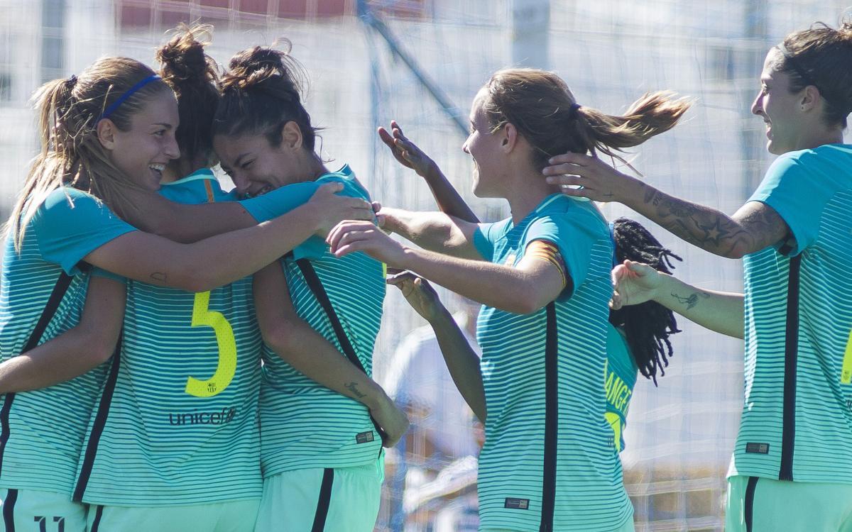 Sporting Huelva - FC Barcelona Femenino: Continúan con la racha de victorias (0-1)