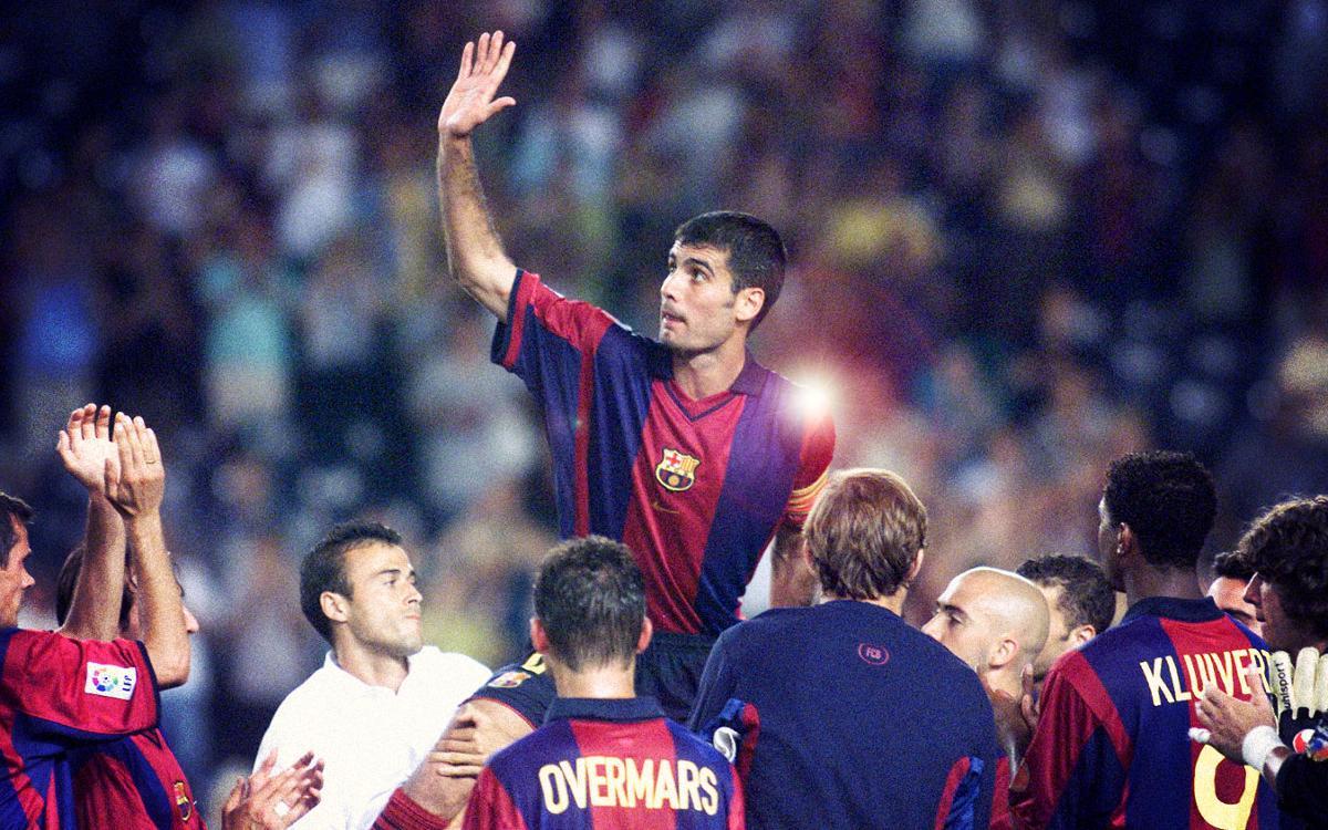 Els millors gols de Guardiola