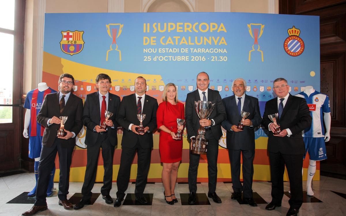 La Supercopa de Catalunya, presentada a Tarragona
