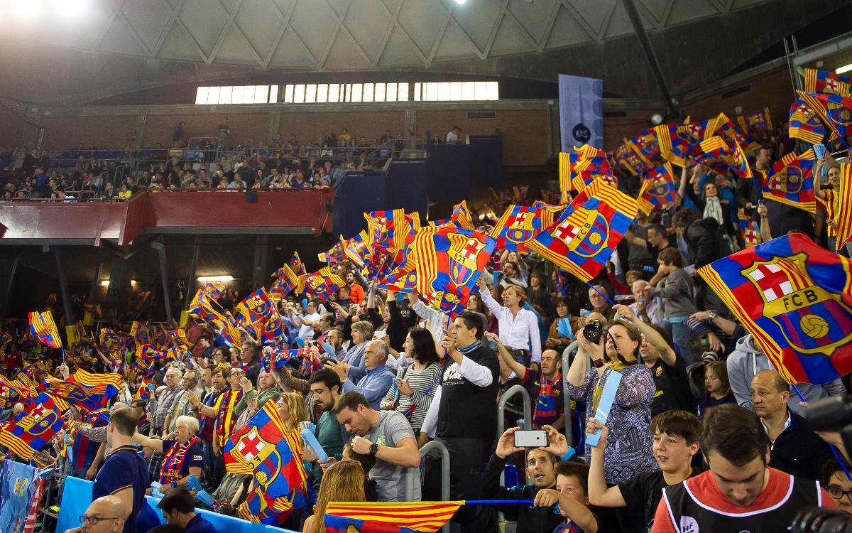 Barça – Veszprém: Una gran tarda d'handbol al Palau Blaugrana