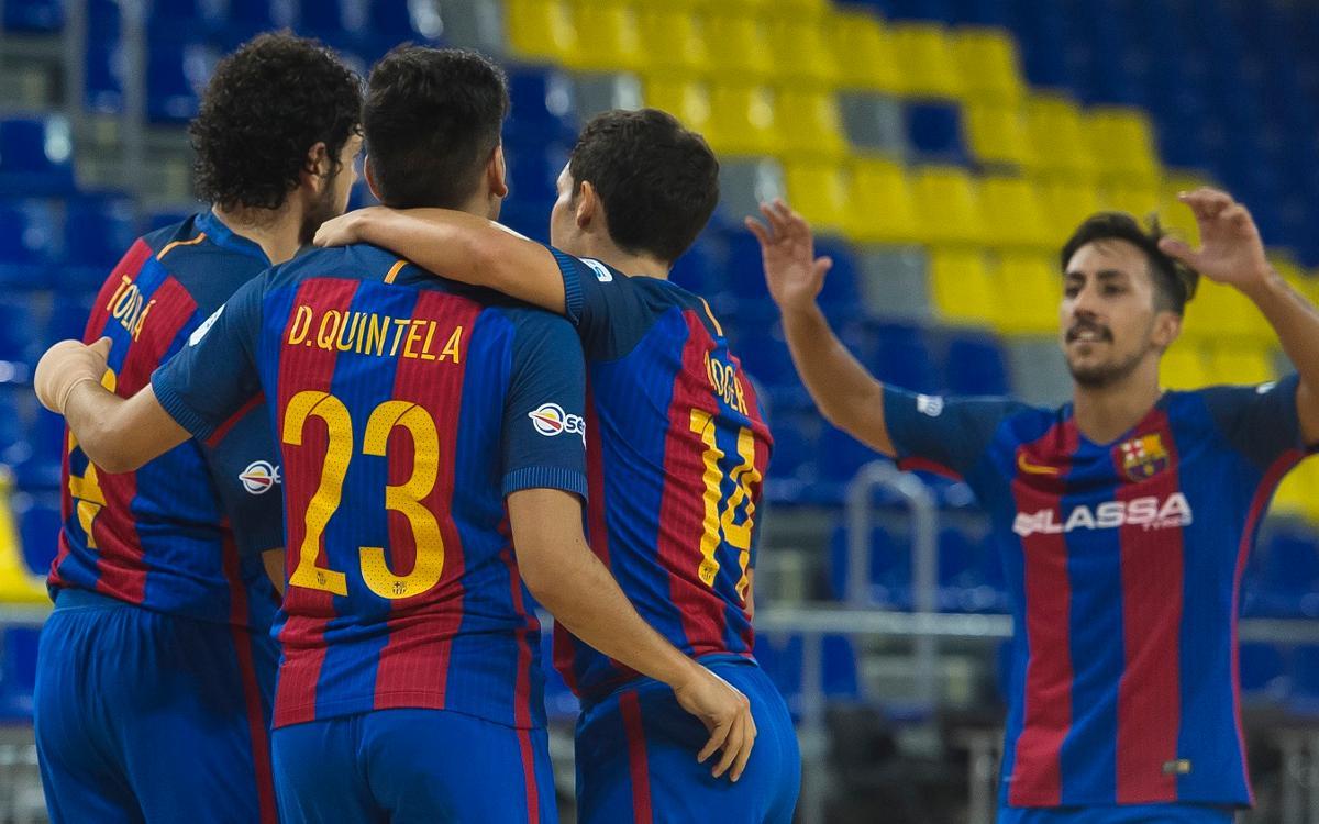 Premi escàs per a un Barça Lassa que va a més (3-2)