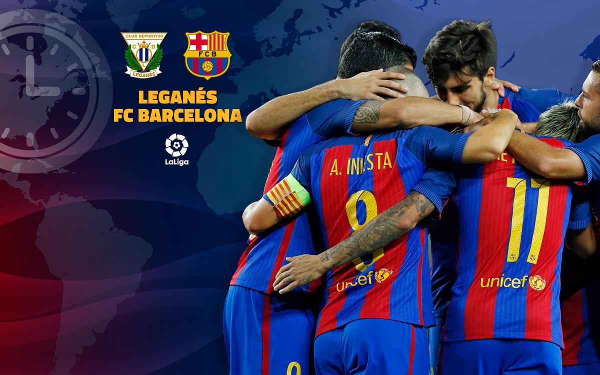 Où et quand voir Leganés - FC Barcelone