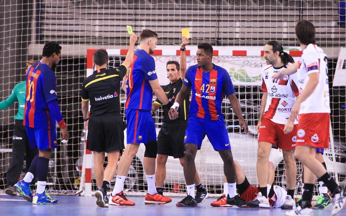 Naturhouse La Rioja – FC Barcelona: Esforç extra per sumar un nou triomf (22-24)