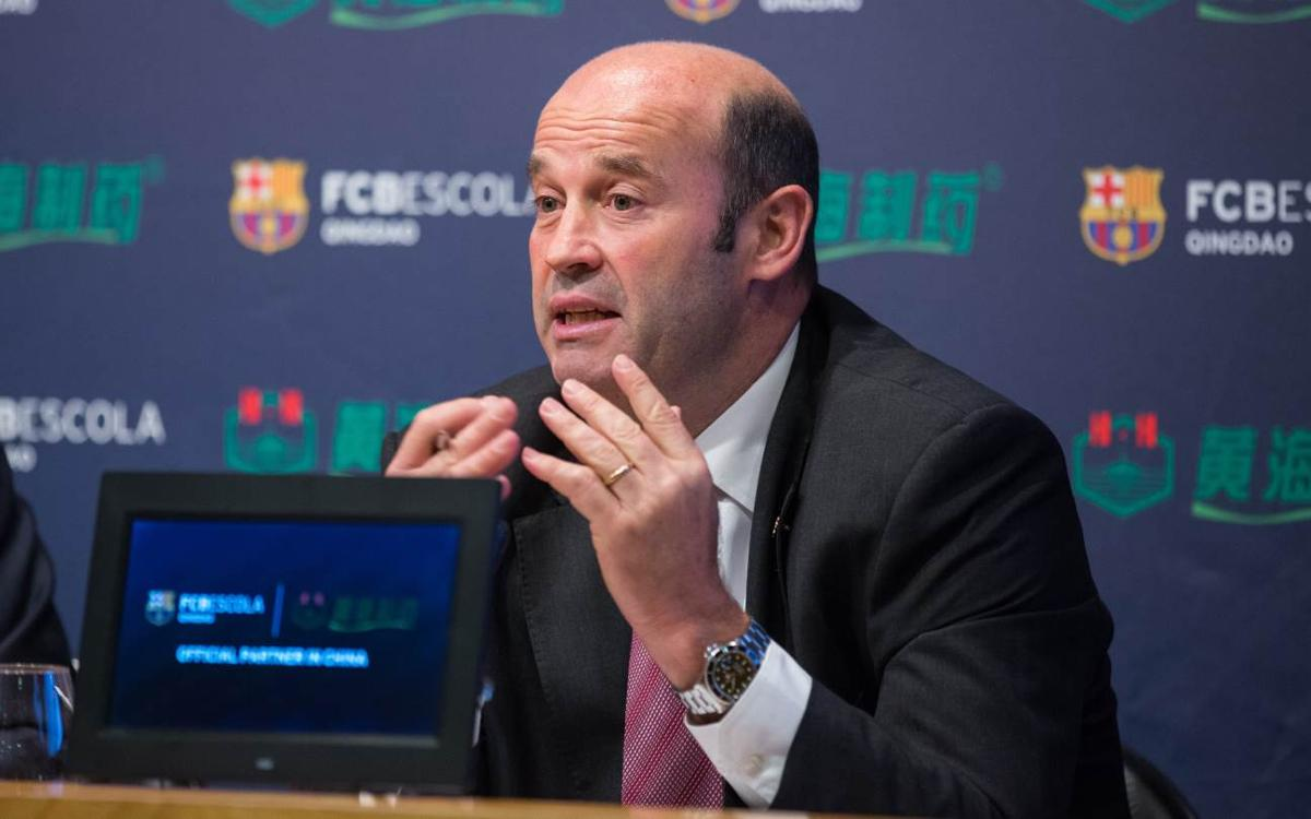 Òscar Grau appointed as new CEO of FC Barcelona