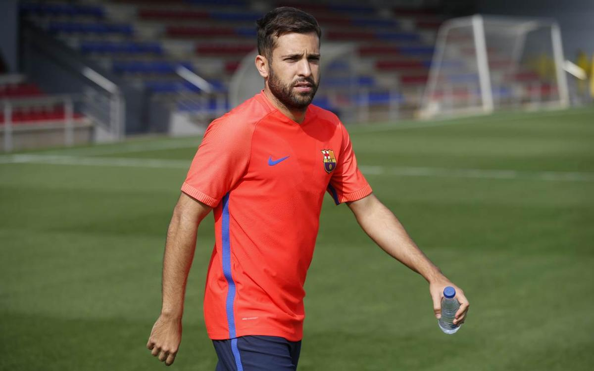 Jordi Alba out for ten days