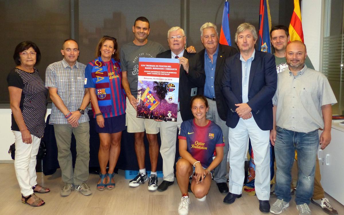 PB Sant Vicenç de Castellet leads the way for penya movement