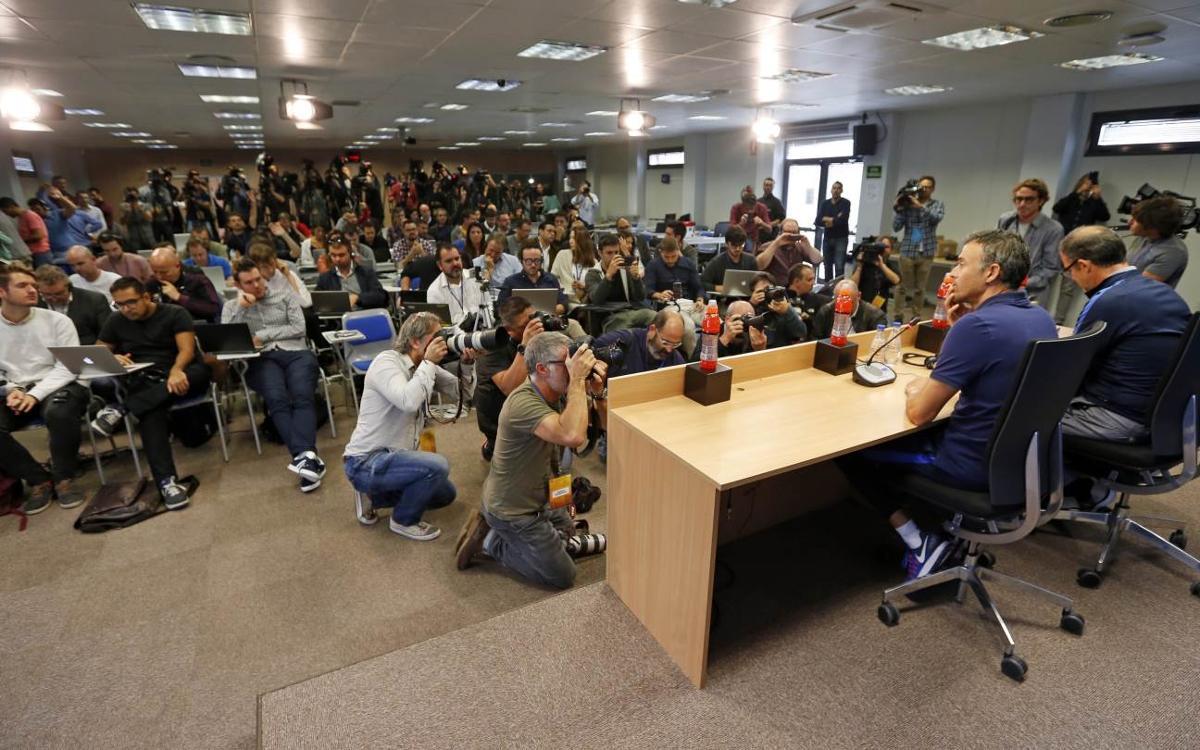 Activitat intensa en la prèvia del Barça-Manchester City
