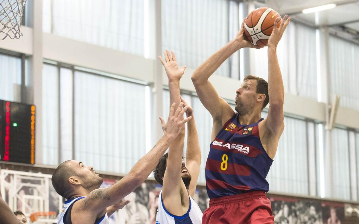 FC Barcelona Lassa B – CB Prat: Empieza el curso con derrota (72-84)