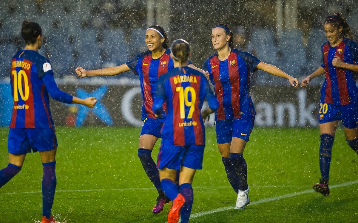 FC Barcelona Femenino – FC Minsk: Clasificación europea pasada por agua (2-1)
