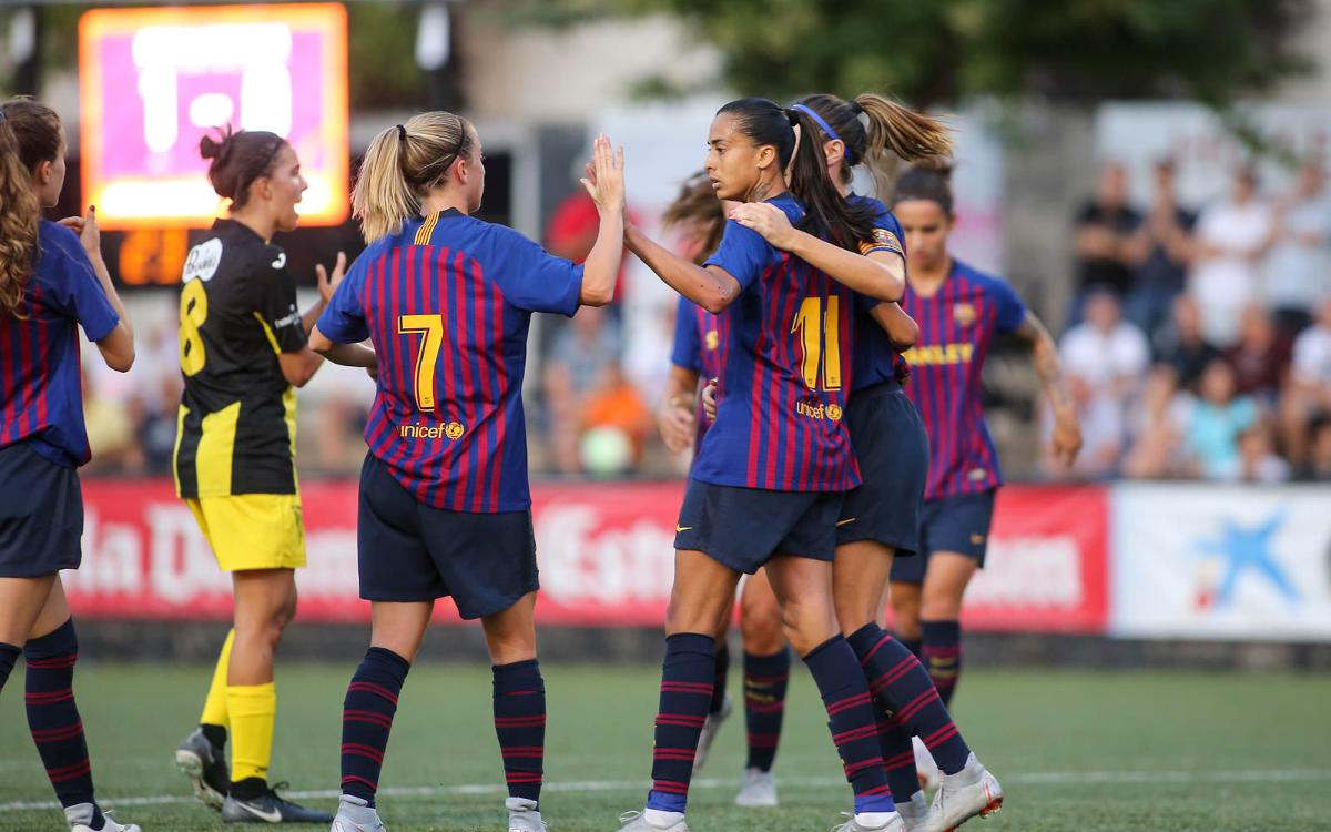 FC Barcelona Femenino - Espanyol (previa): Primer derbi, primer título