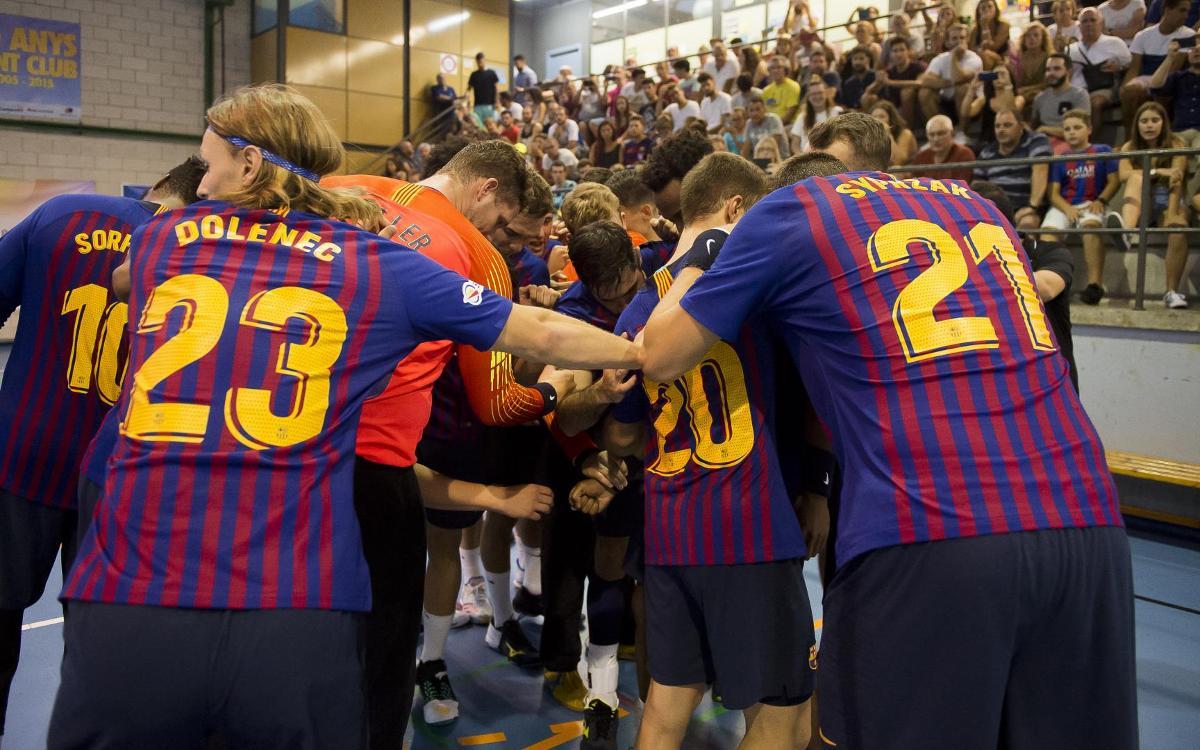CH Sant Esteve Sesrovires - FC Barcelona Lassa: Mostra de recursos per golejar (21-52)