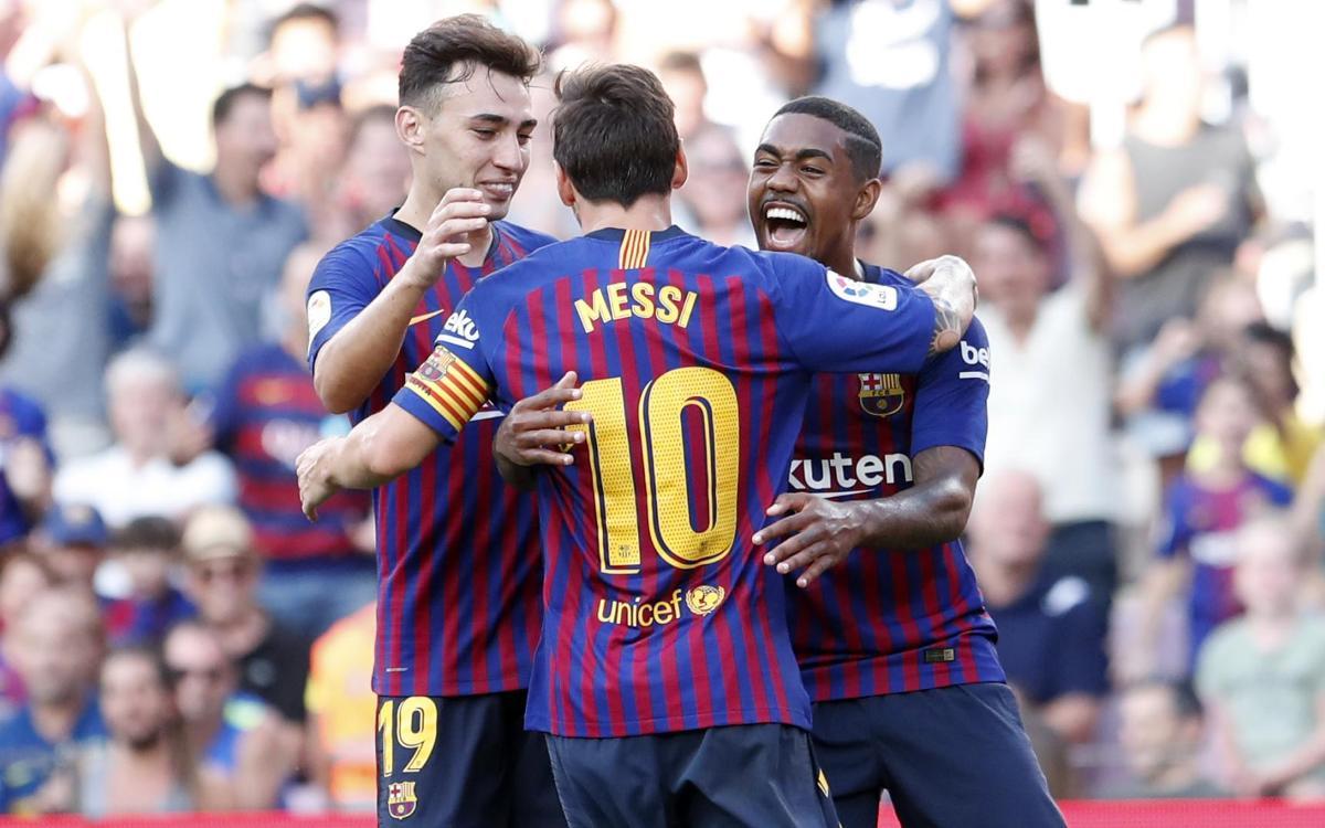 FC Barcelona - Boca Juniors: Ilusión y goles en el estreno en el Camp Nou (3-0)