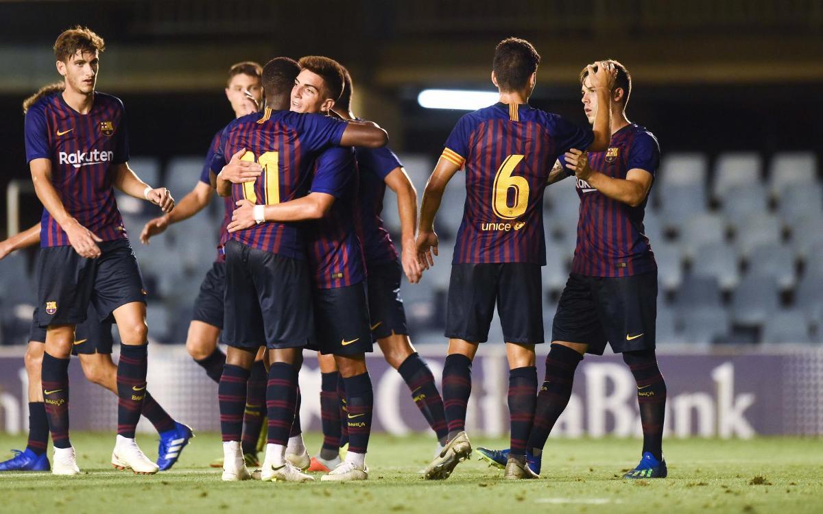 FC Barcelona B - Bengaluru FC: Victoria brillante (3-0)