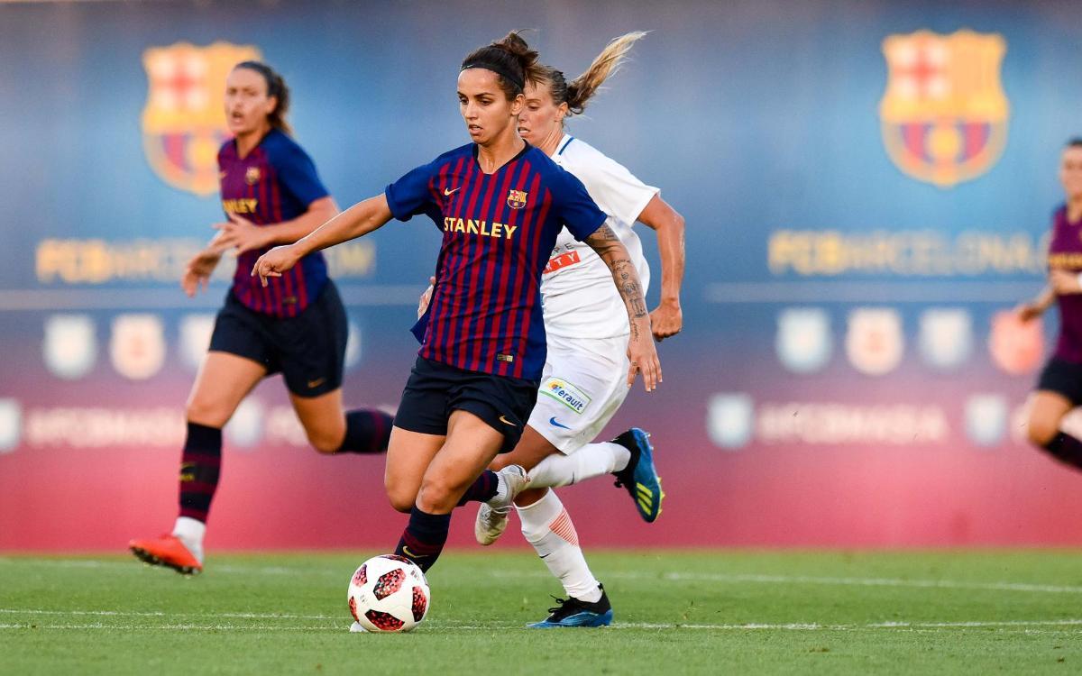 Barça Femení – Montpeller HSC: Intensitat en l'últim partit de pretemporada (1-2)