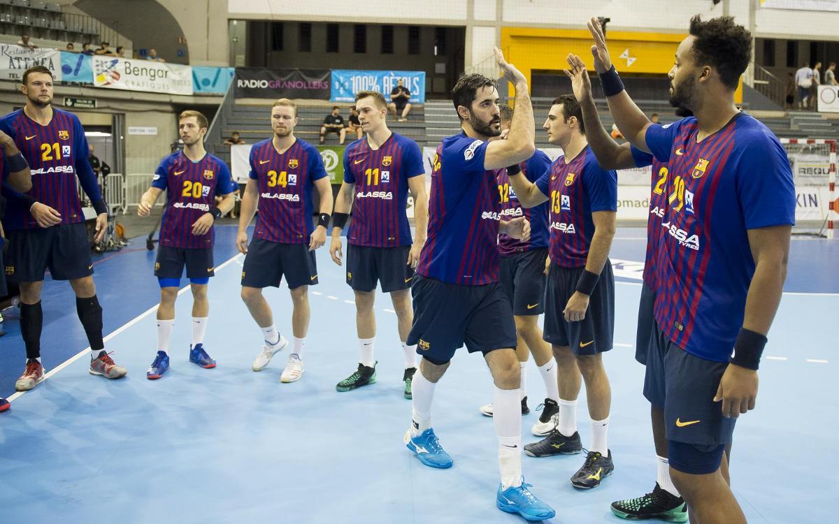 Semana de tres partidos en siete días para el Barça Lassa