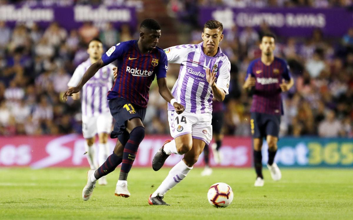 Dembélé plays decisive role at José Zorrilla