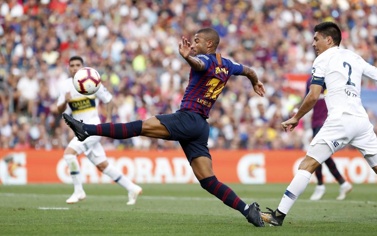 FC Barcelona - Boca Juniors: Reviu els gols del Gamper