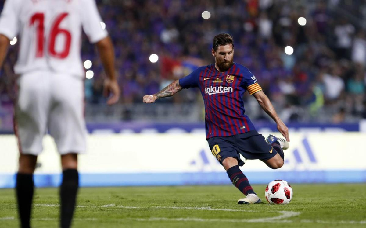 Sevilla, Lionel Messi's favourite victim in LaLiga