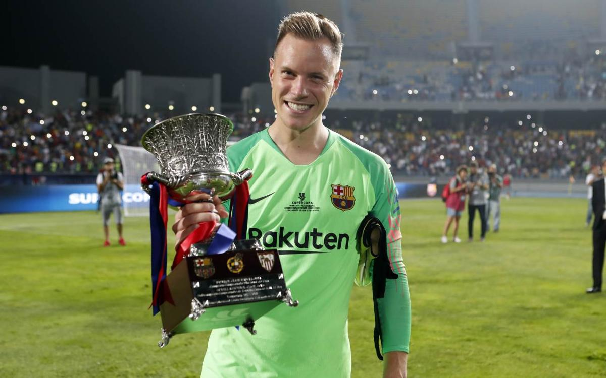 Ter Stegen spot on in Super Cup and beyond