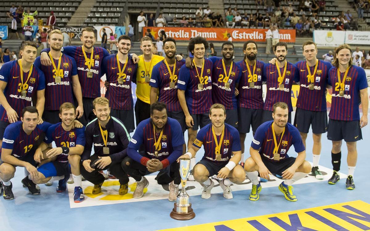 Fraikin Granollers - Barça Lassa: Catalan Super Cup winners (25-43)