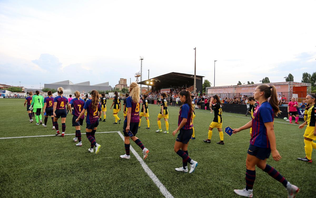 Ajornat el Barça Femení-Llevant del diumenge