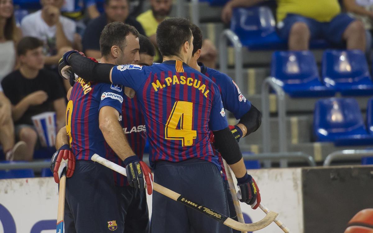 FC Barcelona Lassa - Caldes Recam Láser: Estreno con victoria (4-0)