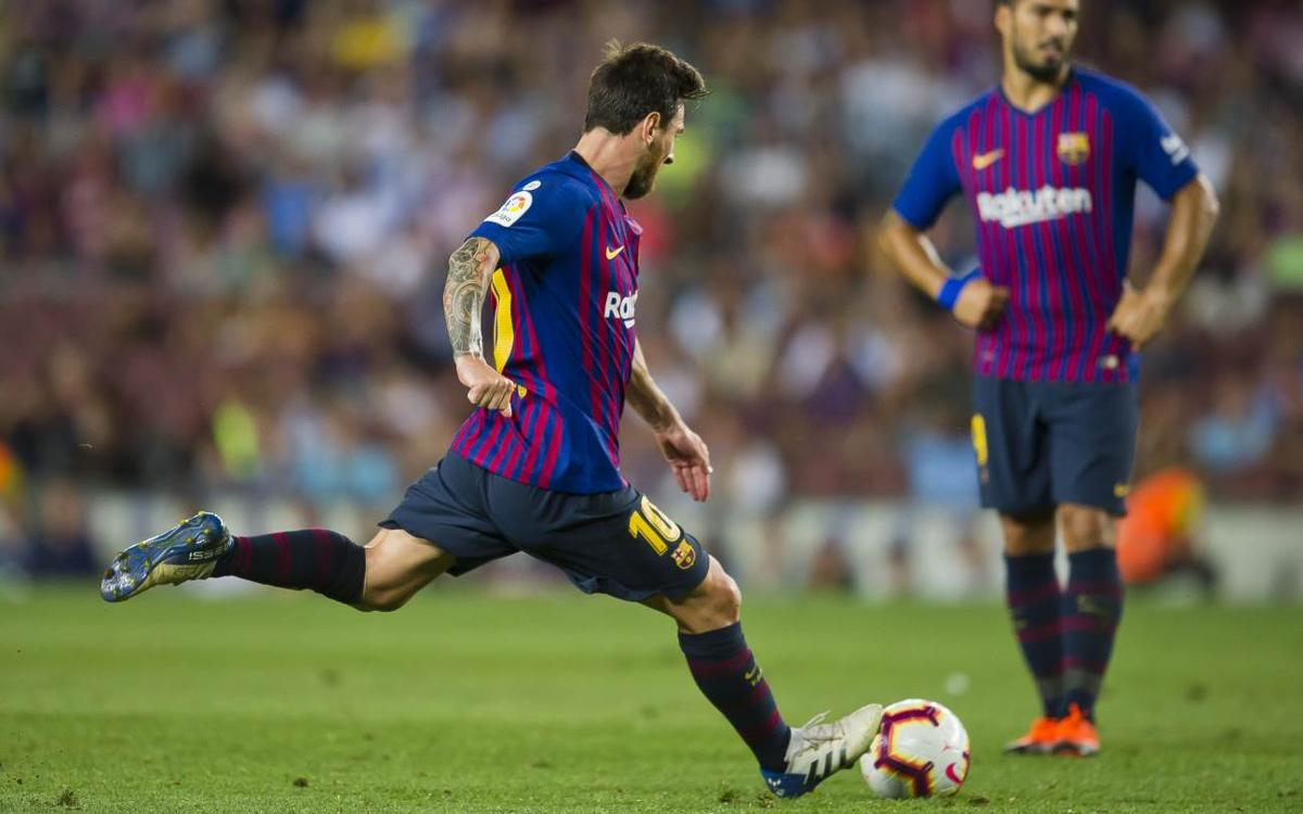 The magic of Leo Messi from direct free-kicks