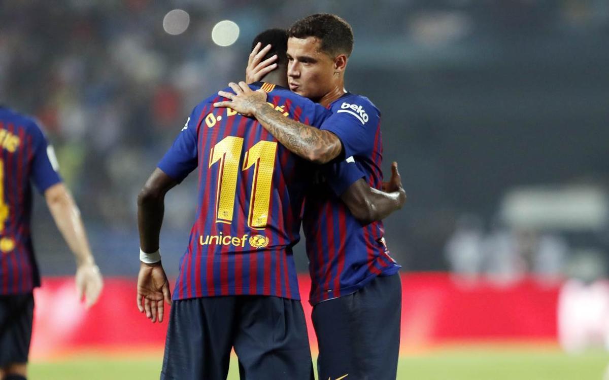 La agenda de los jugadores internacionales del FC Barcelona
