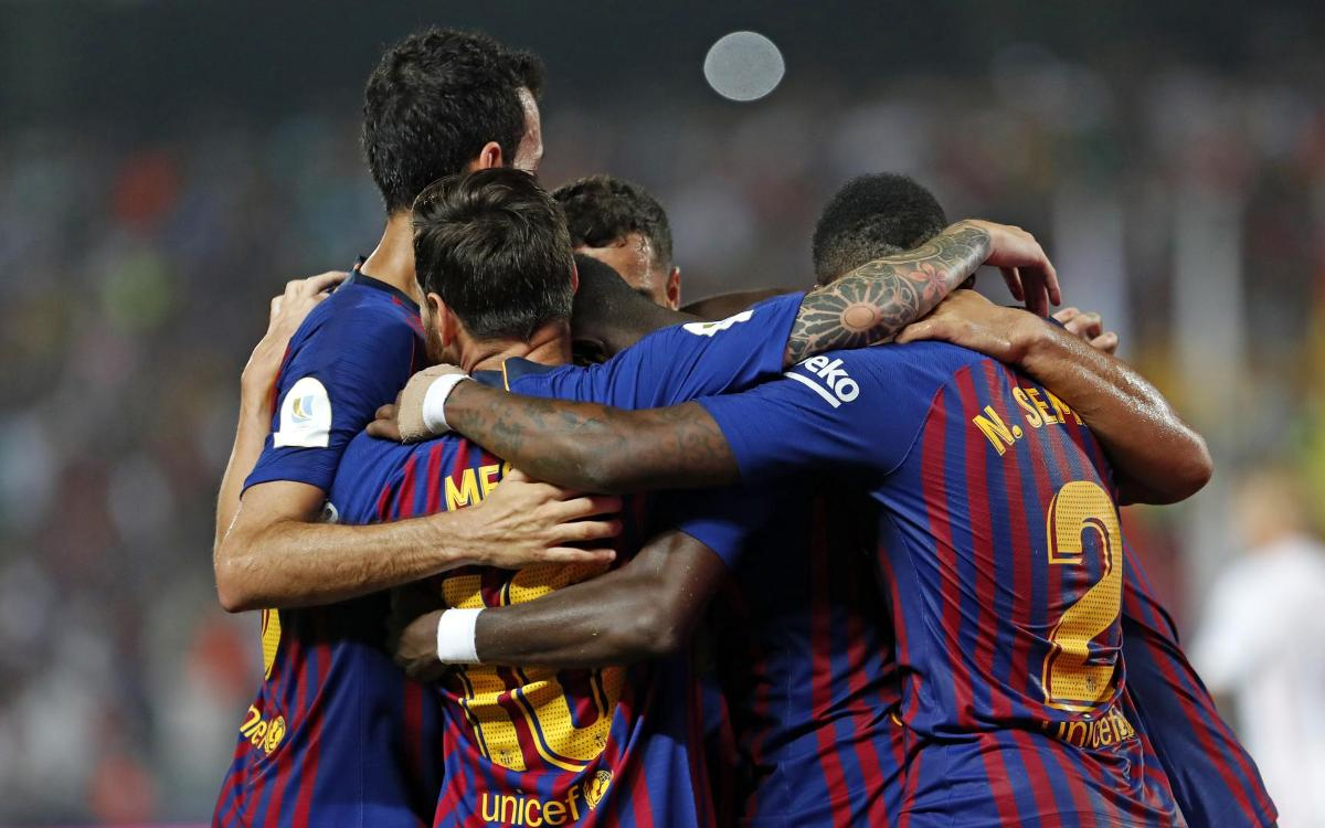 FC Barcelona - Boca Juniors: El Camp Nou s'estrena en la Festa del Gamper Estrella Damm