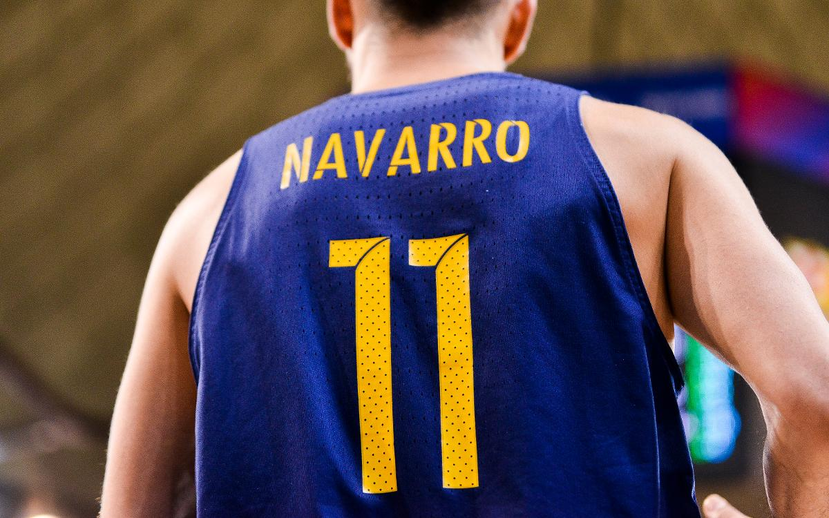 The retirement of Juan Carlos Navarro's number